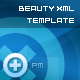 Beauty XML TemplateV1 - ActiveDen Item for Sale