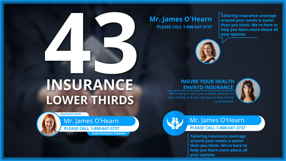 insurance services (corporate) after effects templates | f5-design, Powerpoint templates
