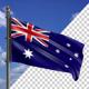Flag Mast Modern Australia