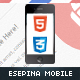 Esepina Mobile | HTML5 & CSS3 And iWebApp - ThemeForest Item for Sale