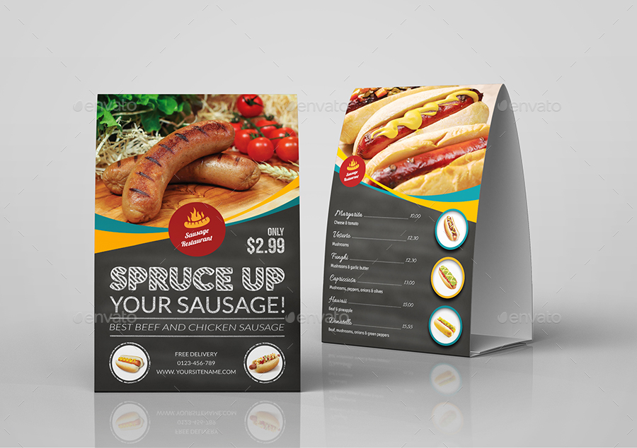 01_Sausage_Restaurant_Table_Tent_Template.jpg 02_Sausage_Restaurant ...