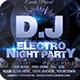 DJ Electro Festival Flyer