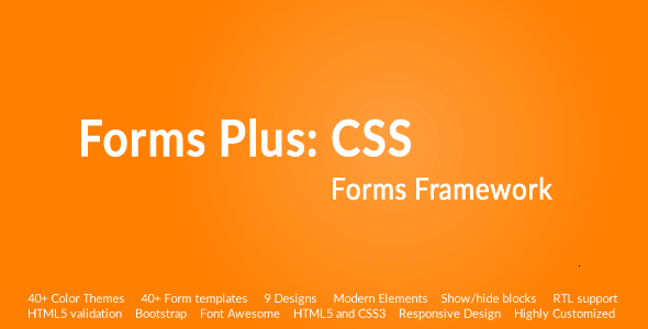Forms Plus: CSS - Form Framework