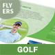 Golf Tournament Flyers 3 – 4 Options
