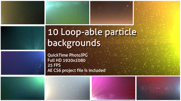 Download Loopable Particle Backgrounds nulled download