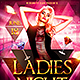 Ladies Night Flyer Template Plus FB Cover