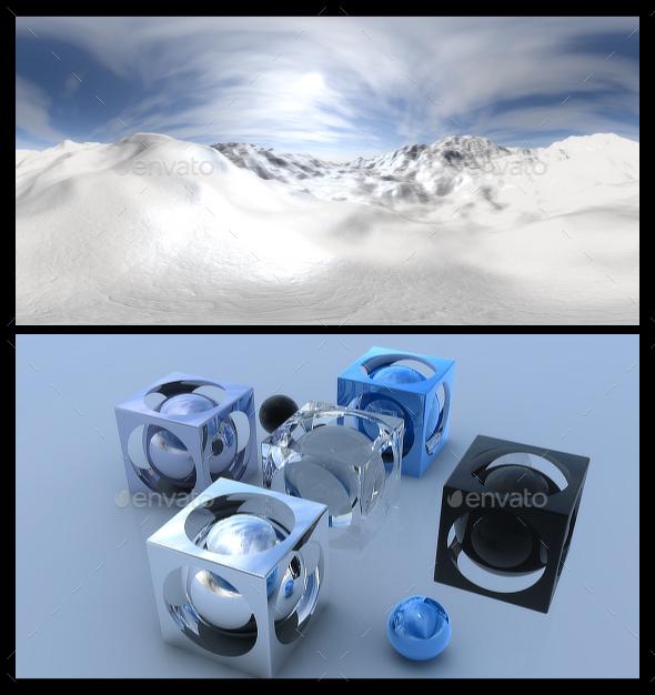3DOcean Snow 2 HDRI 15578310