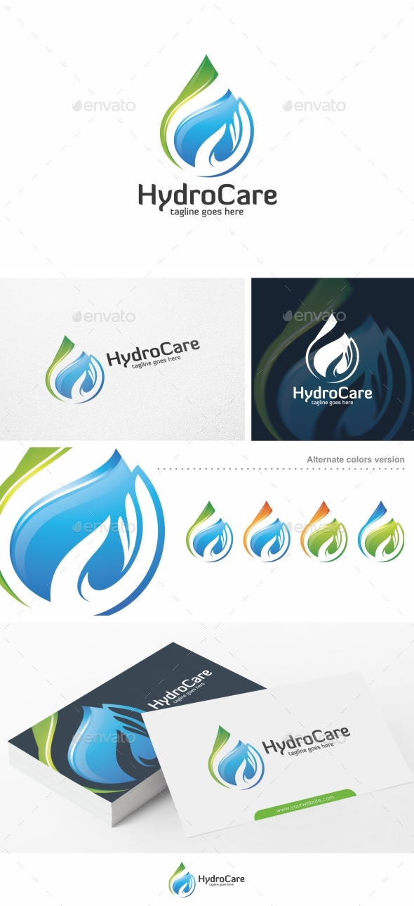 Hydro Care / Water - Logo Template
