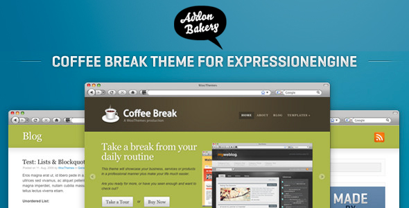 Coffee Break - Business EE Theme