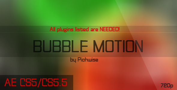 After Effects Project - VideoHive Bubble Motion 167807