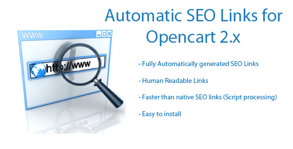 Automatic SEO Links for Opencart