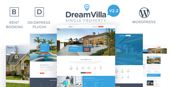 21 - DreamVilla - Single Property Real Estate WordPress Theme