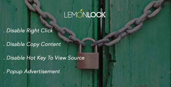 Lemon Lock Site - Advertisement
