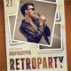 Retro Party Poster V2