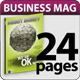 24 Pages Business Magazine - GraphicRiver Item for Sale