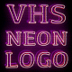 VHS Neon Logo