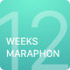 12 Weeks Marathon UI Kit