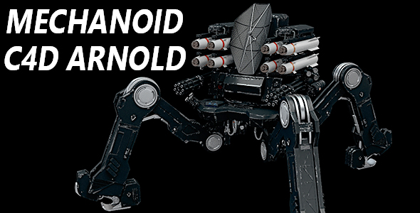 3DOcean mechanoid 15589887