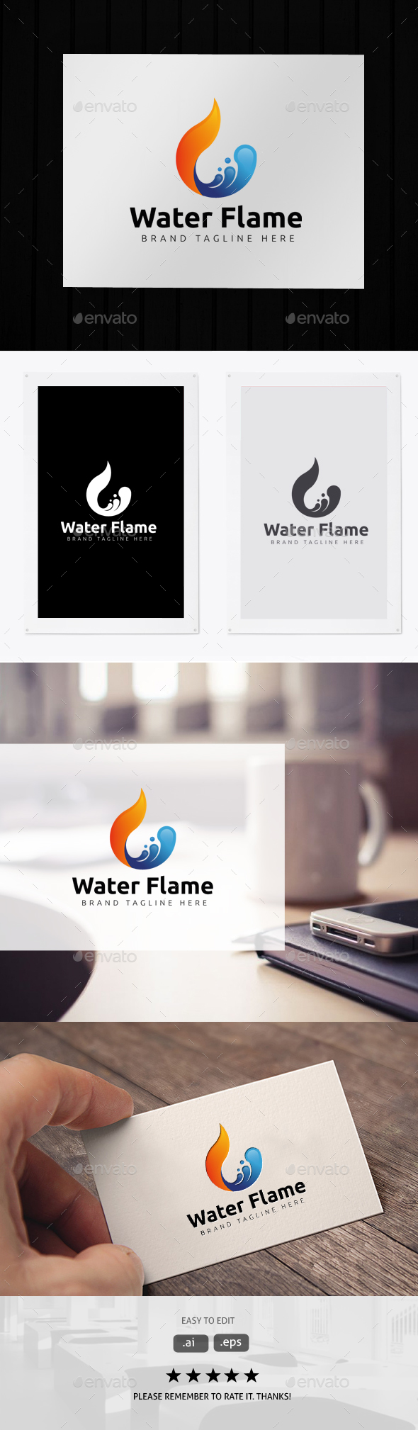 Water Flame