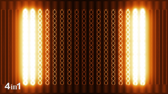 VideoHive Lights Warm Panel 4-Pack 15591569