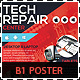 Tech Repair Center Signage B1 Poster