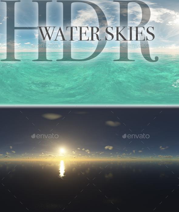 HDR Water Skies - 3DOcean Item for Sale