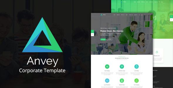 Anvey - Corporate Template