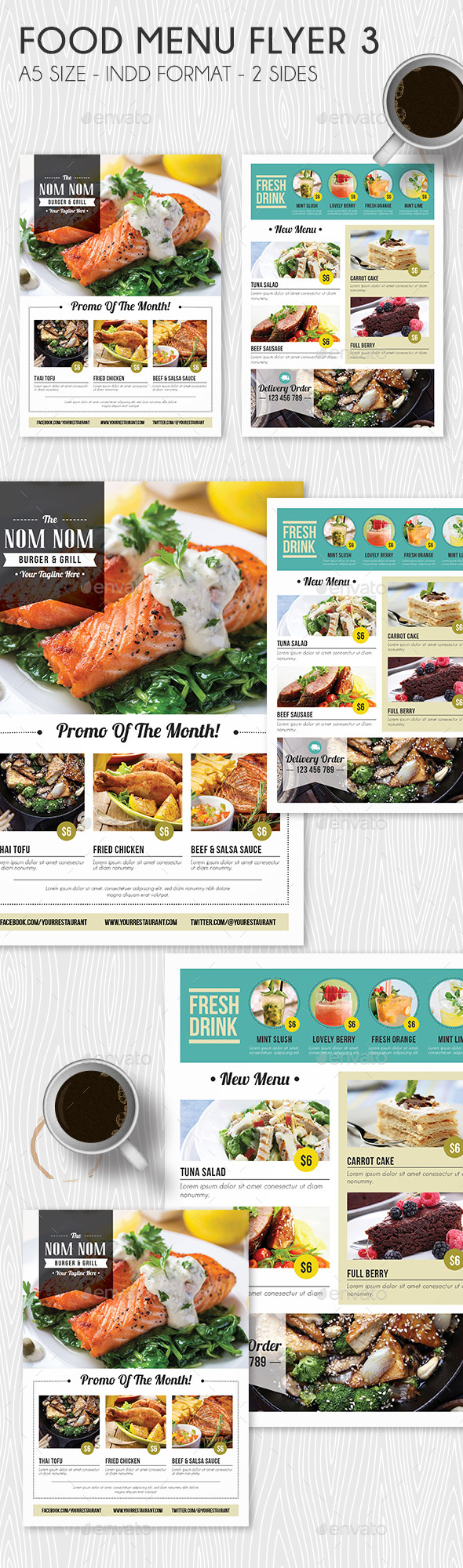 Food Menu Flyer 3
