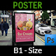 Ice Cream Poster Template Vol.4