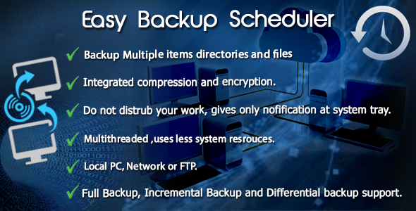 Easy Backup Scheduler