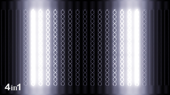 VideoHive White Light Panel 4-Pack 15600331