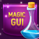 Magical Violet Glossy Game UI Pack