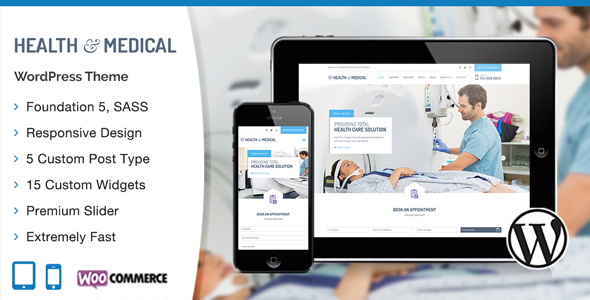 15 - Medical WordPress Theme