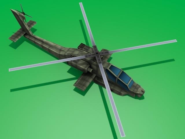 3DOcean AH-64 Apache 1559512