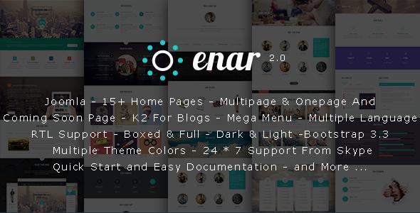 Enar - Responsive Multi-Purpose Joomla Template