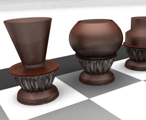 Alco Chess Printable - 3DOcean Item for Sale