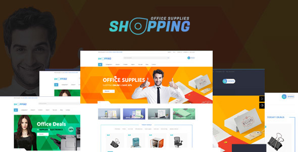 Image of Leo Shopping Office Responsive Prestashop Theme