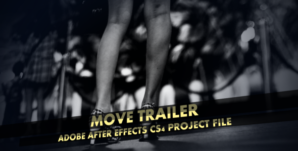 After Effects Project - VideoHive Move Trailer 1560356