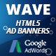 Free Download HTML5 Animated Banner Templates | «WAVE banner» Nulled