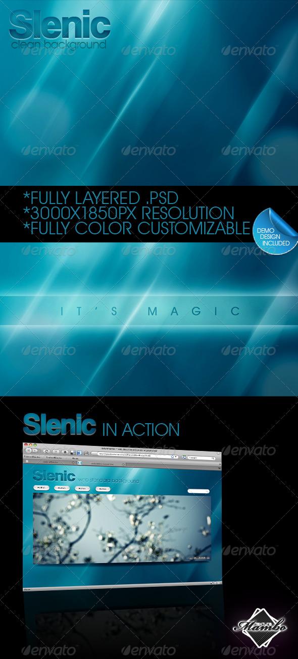 GraphicRiver Slenic Web background 2.0 184121