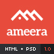 Ameera HTML - Clean and Minimal Blogging Template