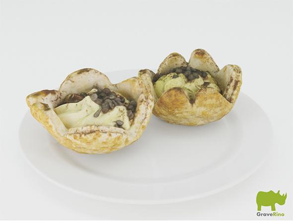 Desserts 3D Model - 3DOcean Item for Sale