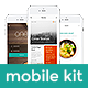 One - Premium Mobile UI Templates for iPhone 6 Plus