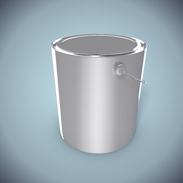 Paint Can - 3DOcean Item for Sale