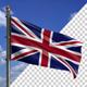 Flag Mast Modern United Kingdom