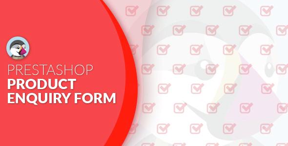 Prestashop Product Enquiry Form