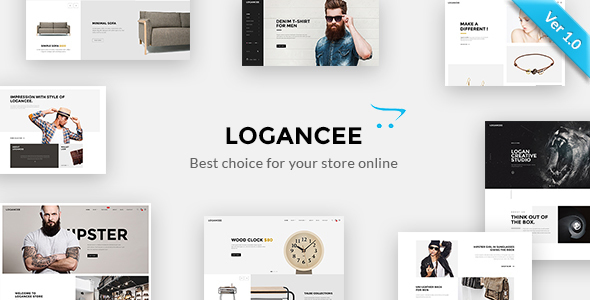 Download Logancee - Premium OpenCart Template nulled download
