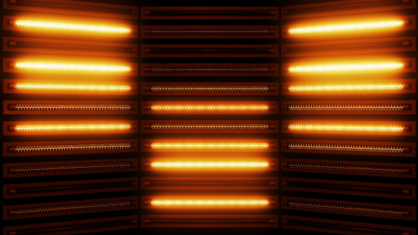VideoHive Warm Lights Panel 15623081