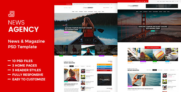 News Agency -  News Magazine Newspaper