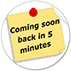 Coming soon page & Maintenance mode Plugin for WordPress:Back in 5'